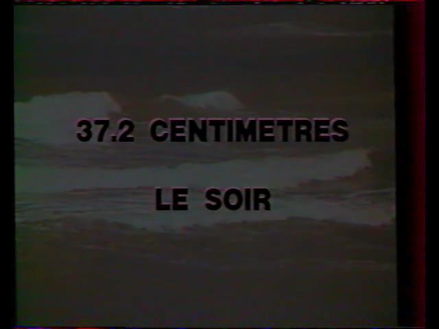 37,2 Centimetres Le Soir