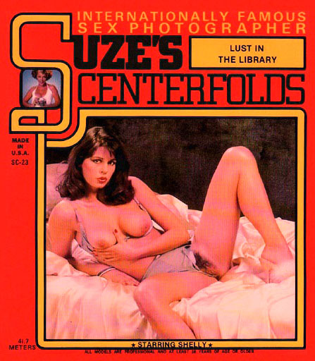 Suze's Centerfolds 23 - Lust In The Library (better quality)