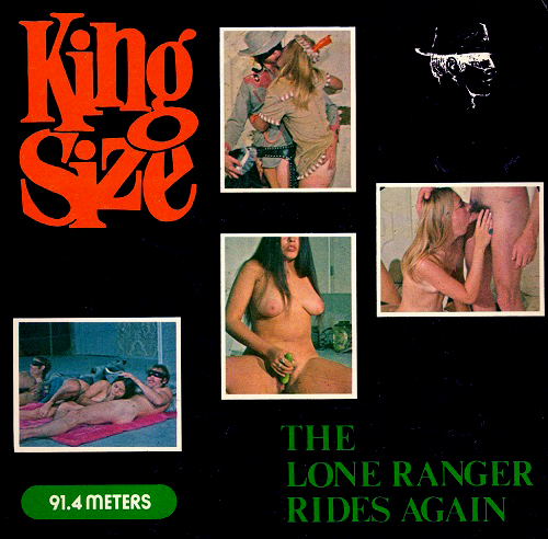 King Size US 103 - The Lone Ranger Rides Again