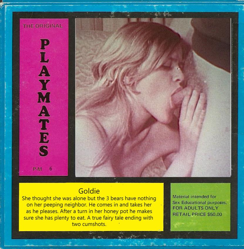 Playmate Film 6 - Goldie (version 2)