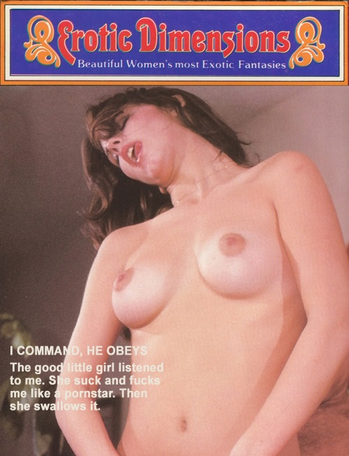 Erotic Dimensions 65 - I Command, He Obeys