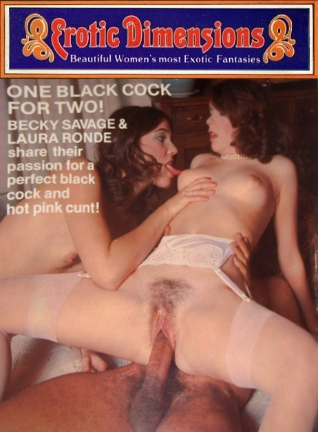 Erotic Dimensions 88 - One Black Cock for Two