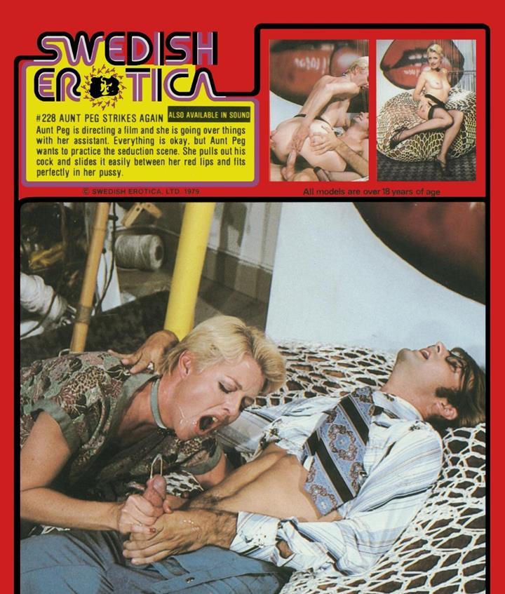 Swedish Erotica 228 - Aunt Peg Director