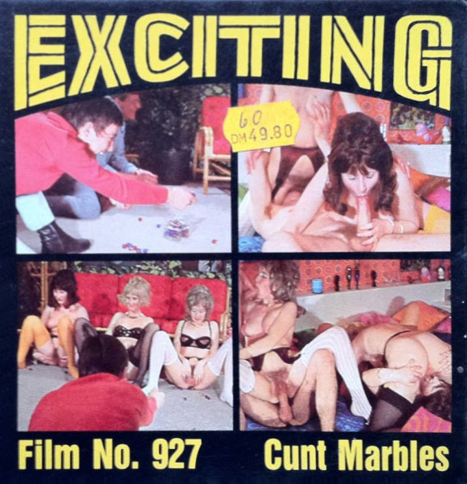Exciting Film 927 - Cunt Marbles (version 2)