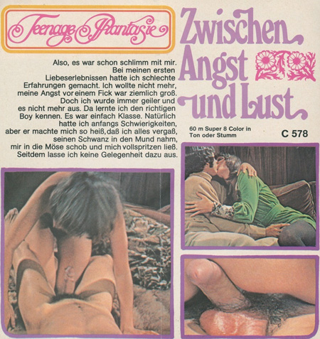 Teenage Pantasie 578 - Zwischen Angst Und Lust
