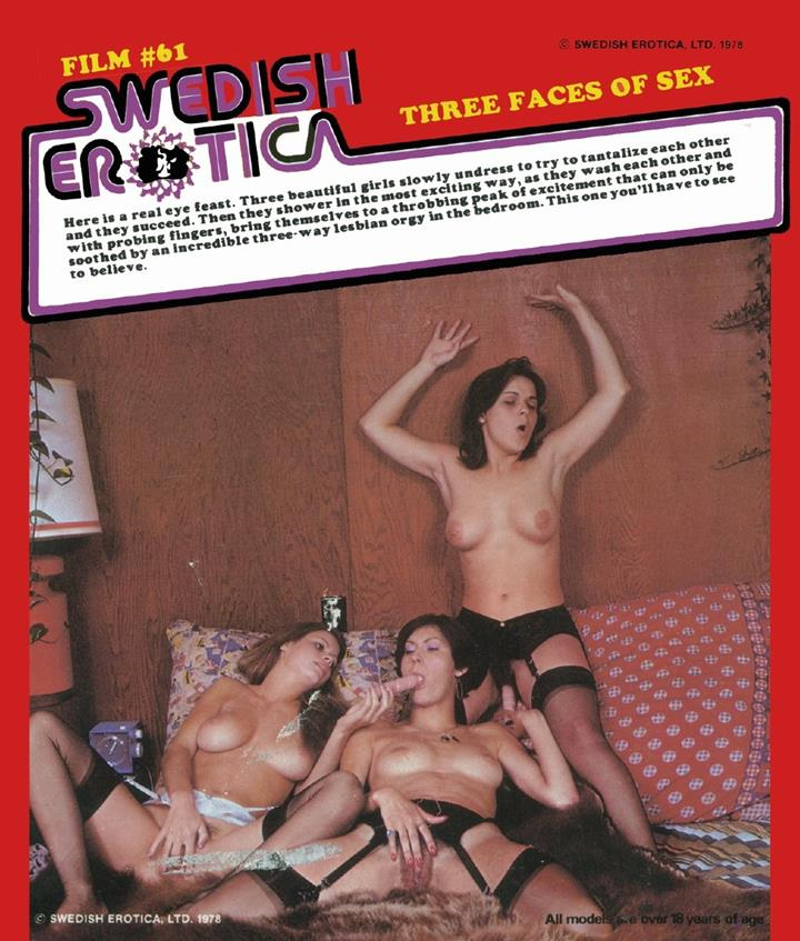 Swedish Erotica 61 - Three Faces of Sex