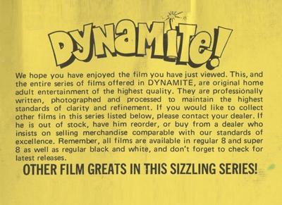 Dynamite 1 - Easy Rider