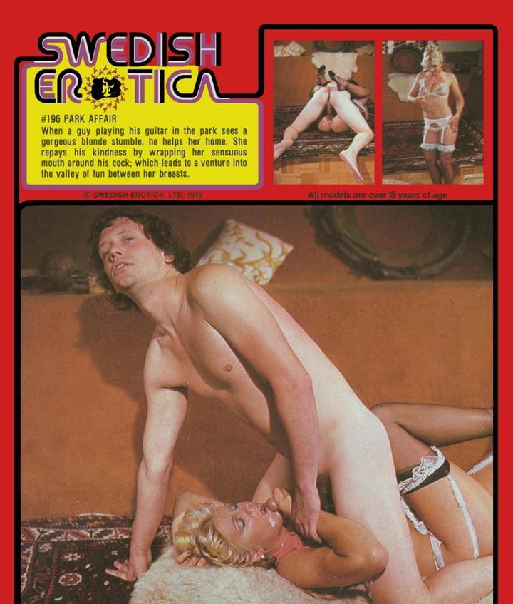 Swedish Erotica 196 - Park Affair