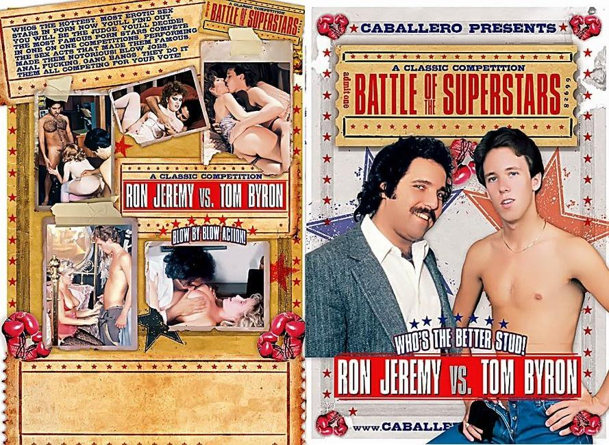 Battle of Superstars Ron Jeremy vs Tom Byron