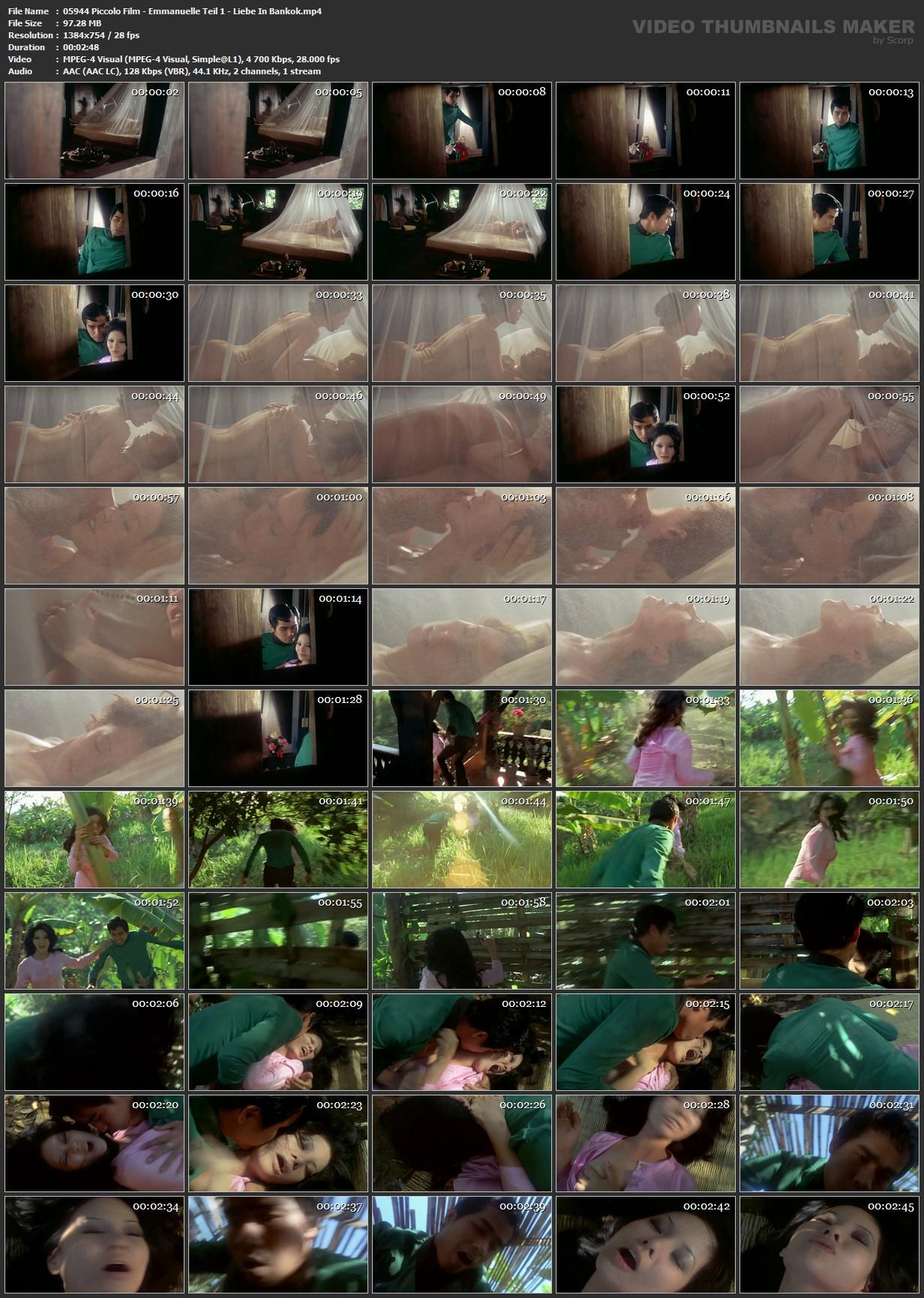 Piccolo Film - Emmanuelle Teil 1 - Liebe In Bankok